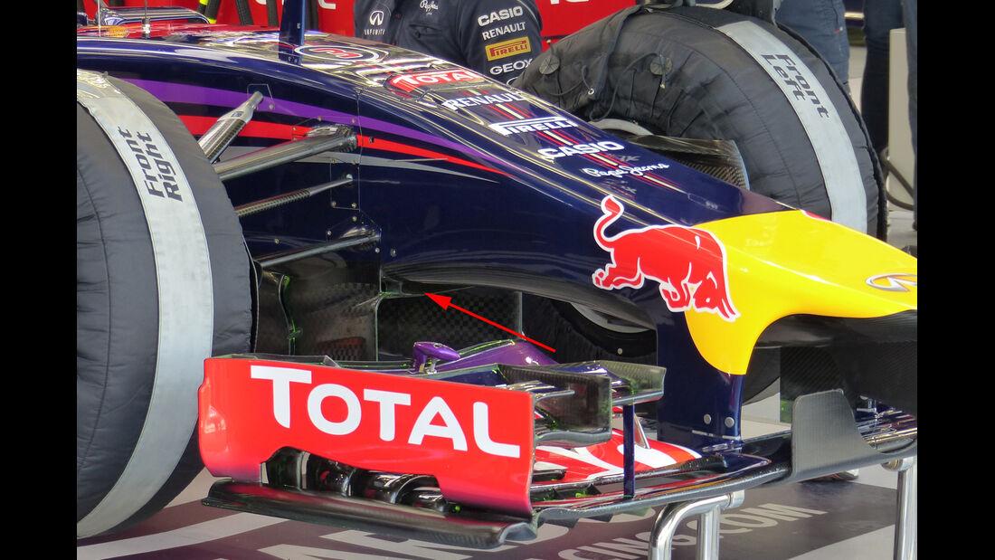 Red Bull - Formel 1 Test - Bahrain - 2014