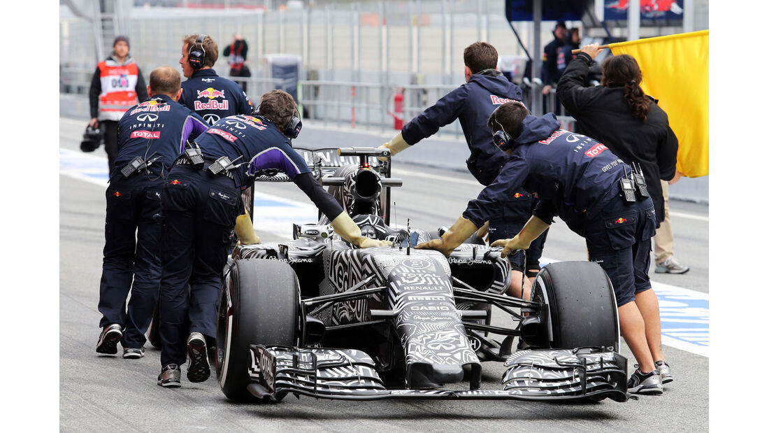 Red Bull - Formel 1-Test - Barcelona - 1. März 2015