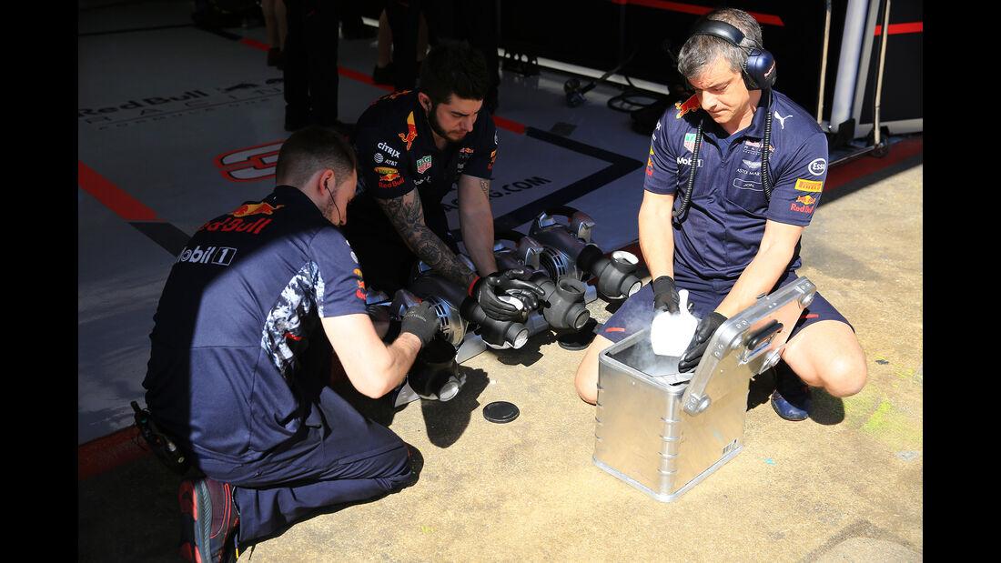 Red Bull - Formel 1 - Test - Barcelona - 10. März 2017