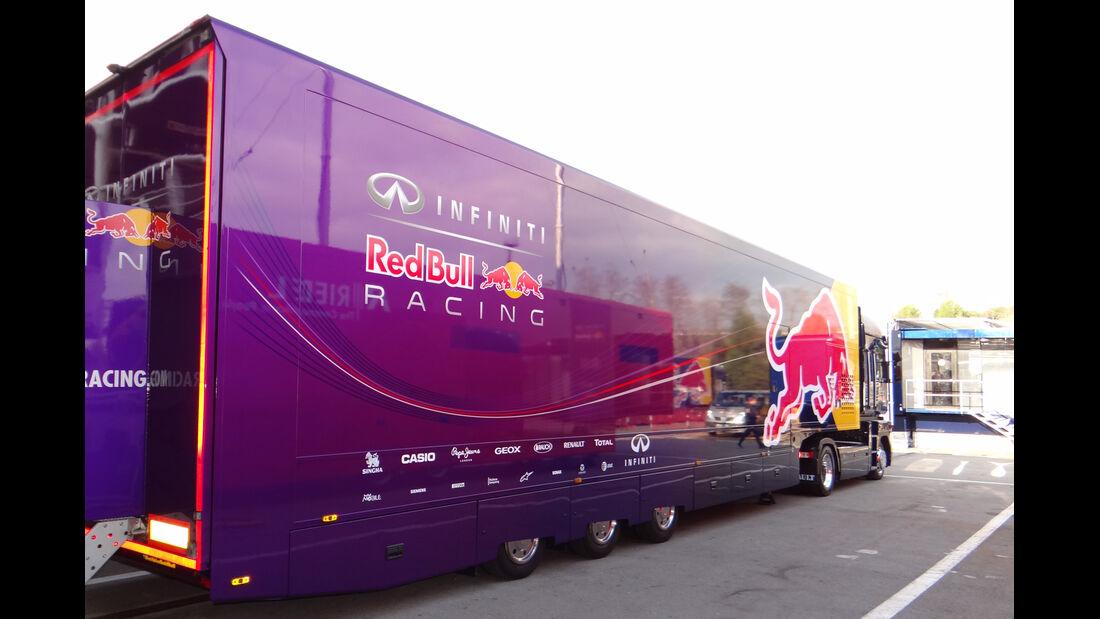 Red Bull - Formel 1 - Test - Barcelona - 19. Februar 2013