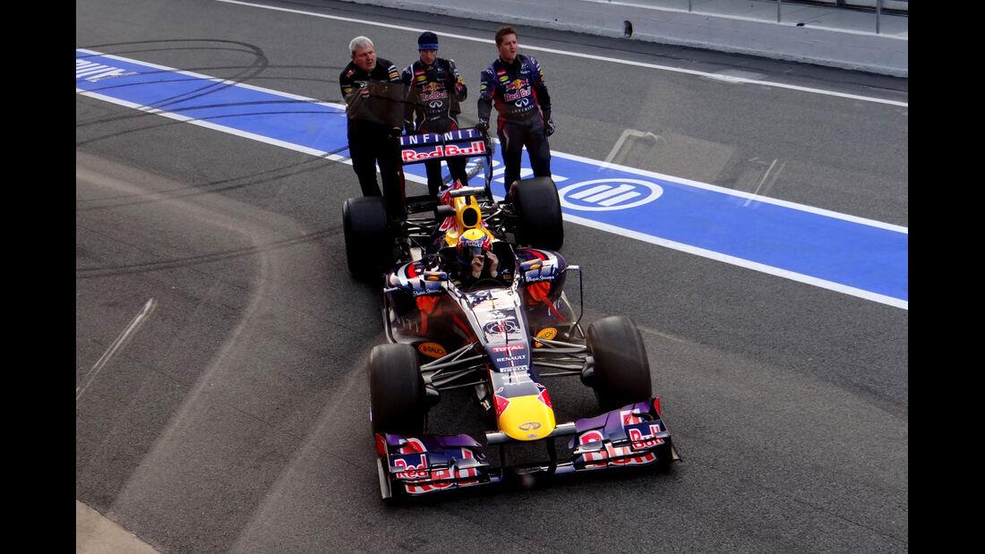 Red Bull - Formel 1 - Test - Barcelona - 20. Februar 2013