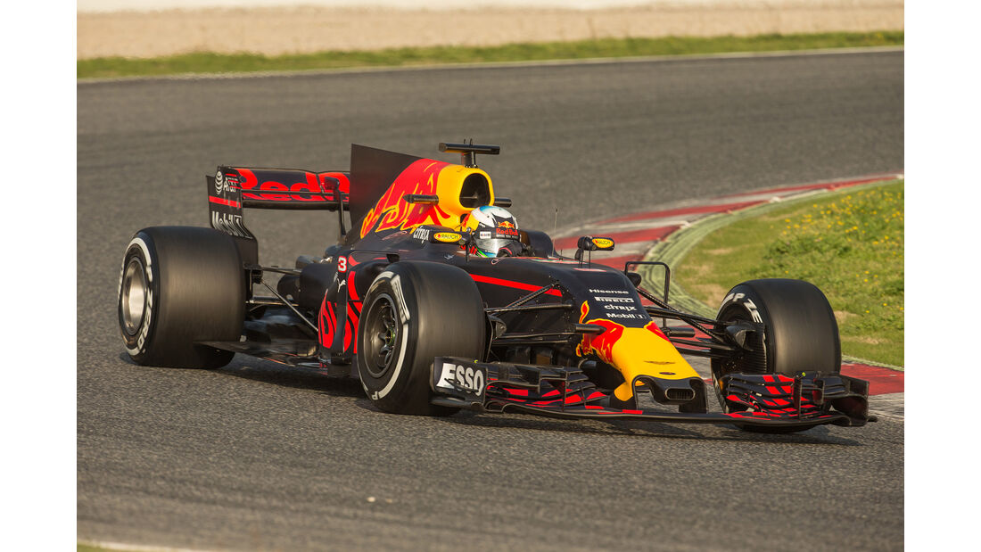 Red Bull - Formel 1 - Test - Barcelona - 2017