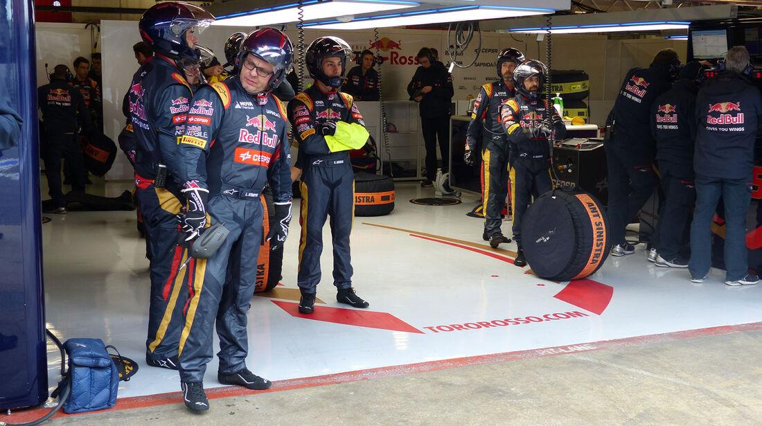 Red Bull - Formel 1-Test - Barcelona - 27. Februar 2015