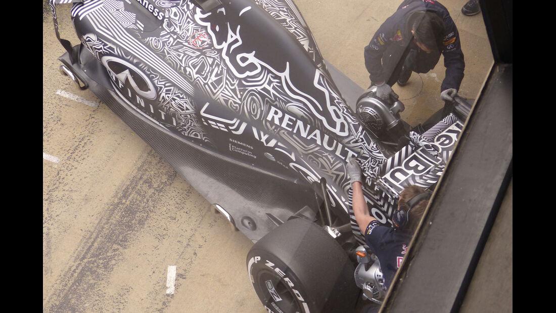Red Bull - Formel 1-Test - Barcelona - 28. Februar 2015