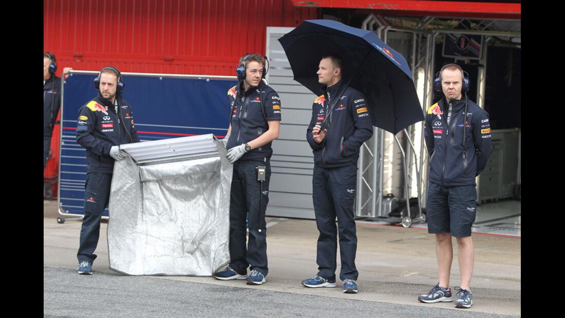 Red Bull - Formel 1-Test Barcelona - 4. März 2012