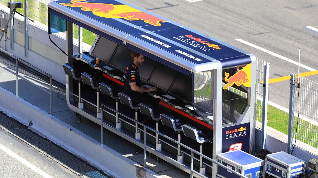Red Bull - Formel 1 - Test - Barcelona - 7. März 2017