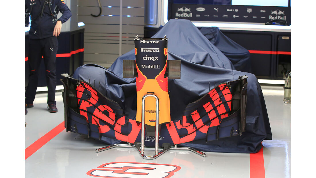 Red Bull - Formel 1 - Test - Barcelona - 8. März 2017