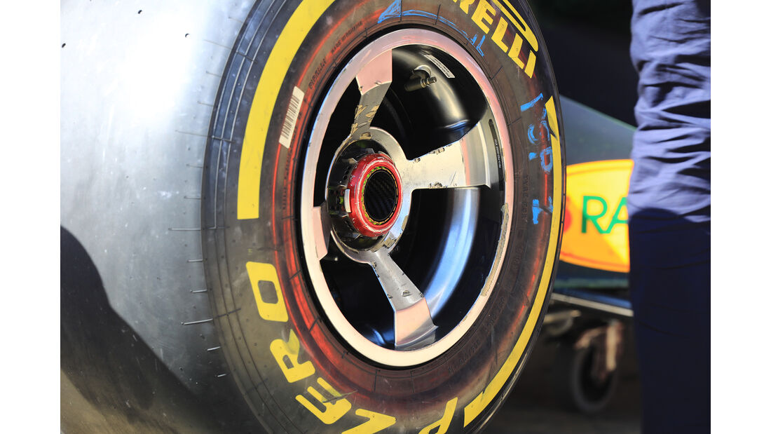 Red Bull - Formel 1 - Test - Barcelona - 9. März 2017