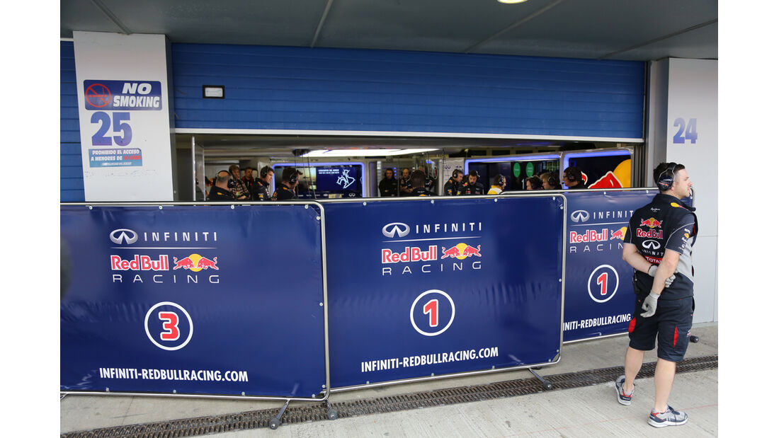 Red Bull - Formel 1 - Test - Jerez - 28. Januar 2014