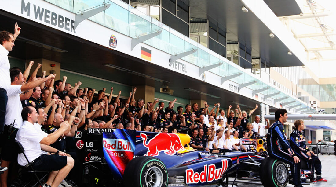 Red Bull Foto GP Abu Dhabi 2010