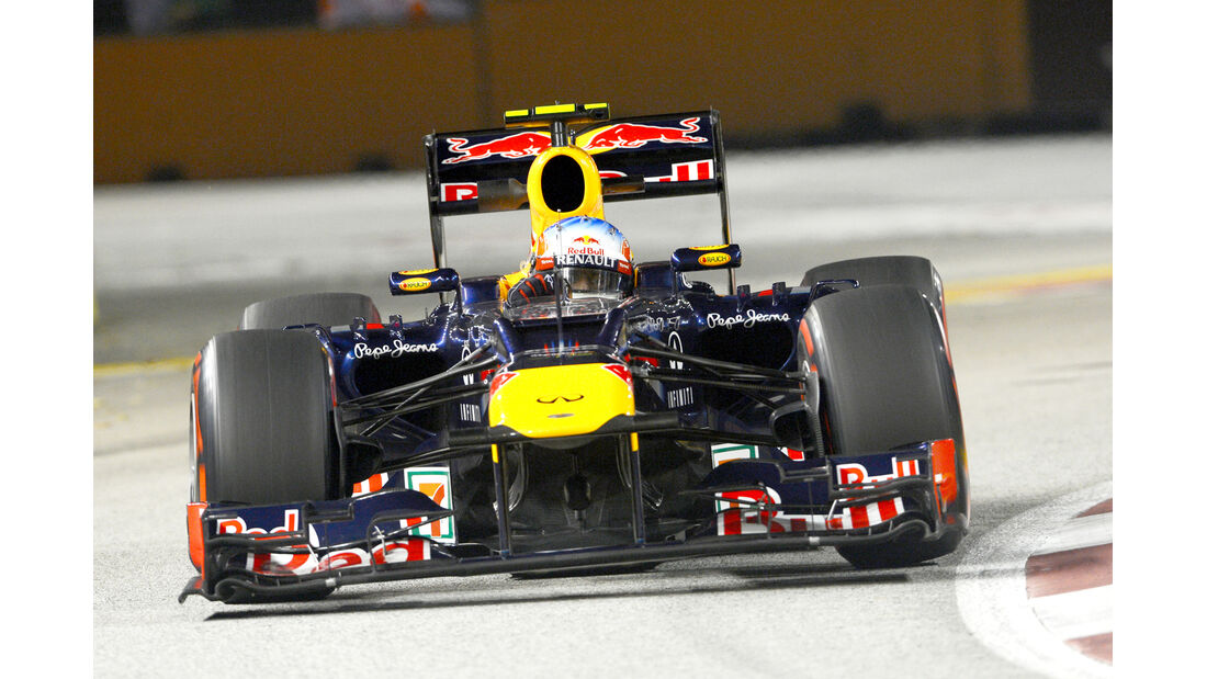 Red Bull Frontflügel 2012