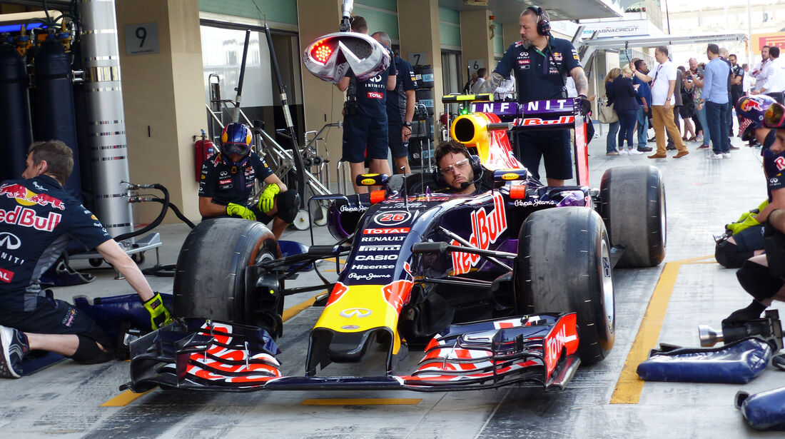 Red Bull - GP Abu Dhabi - 28. November 2015