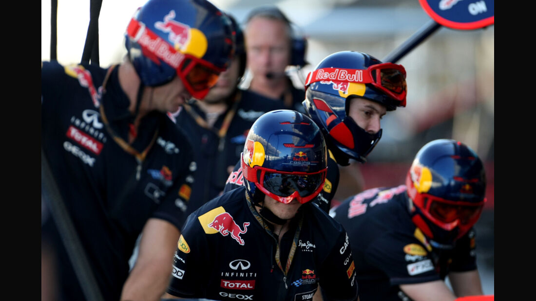 Red Bull - GP Abu Dhabi - Freies Training - 11. November 2011
