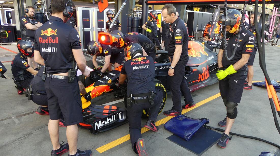 Red Bull - GP Australien 2018 - Melbourne - Albert Park - Donnerstag - 22.3.2018