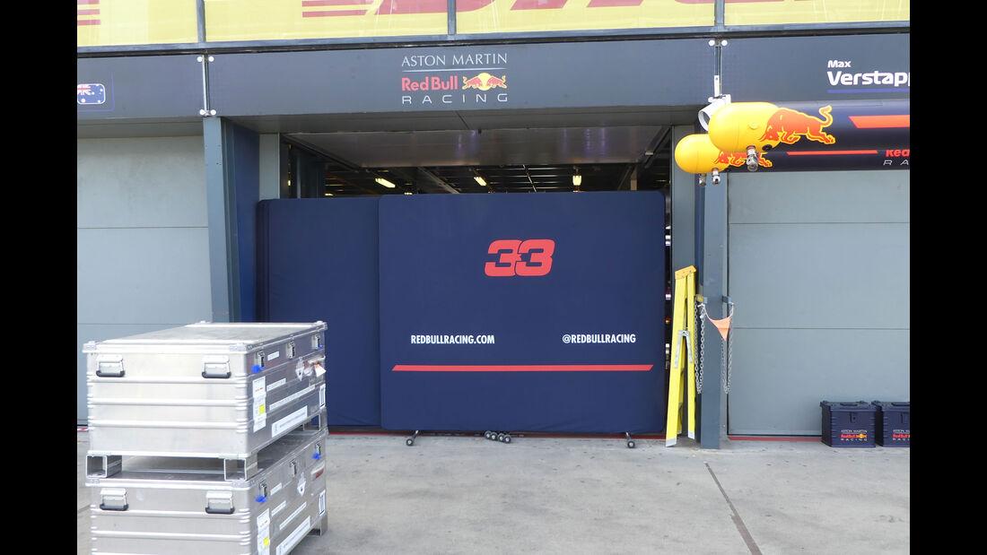 Red Bull - GP Australien 2018 - Melbourne - Albert Park - Mittwoch - 21.3.2018