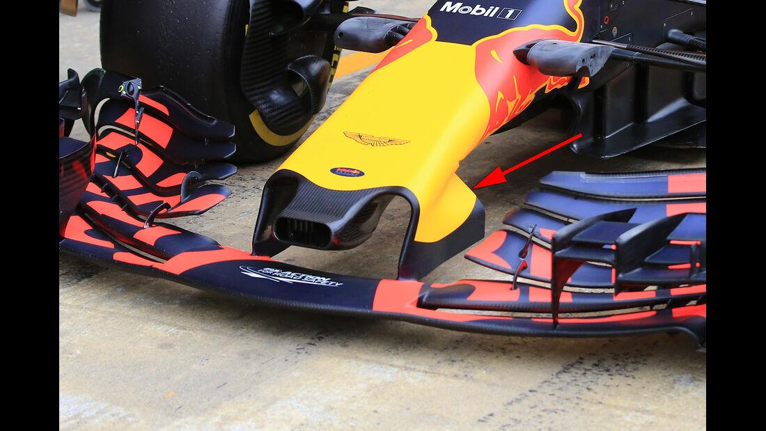 Red Bull - GP Australien - Formel 1 - Technik - 2017