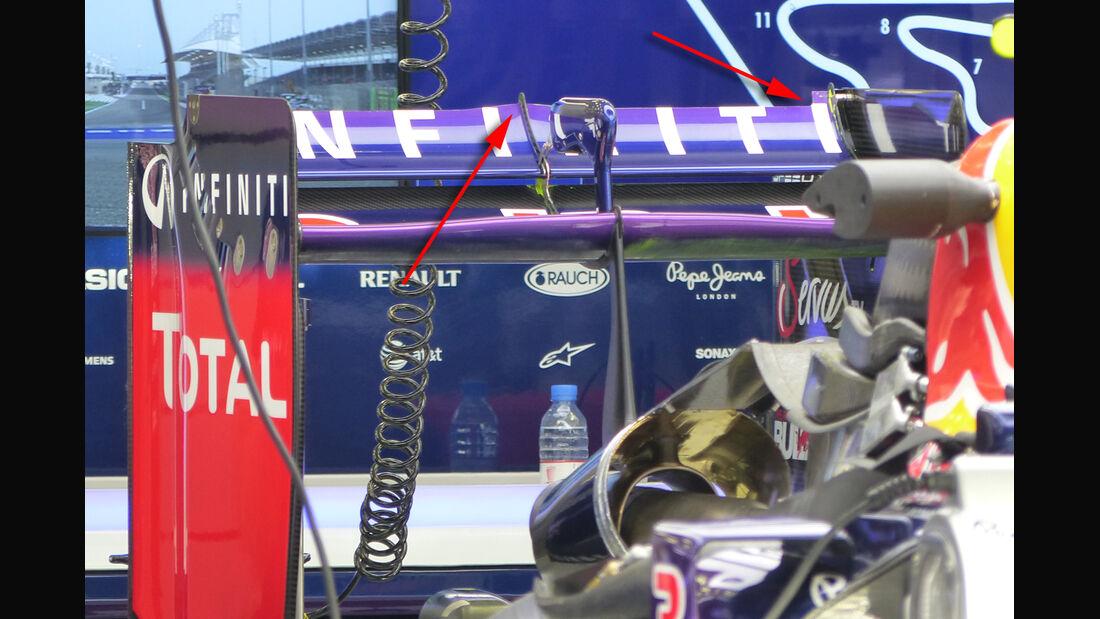Red Bull - GP Bahrain 2014 Technik