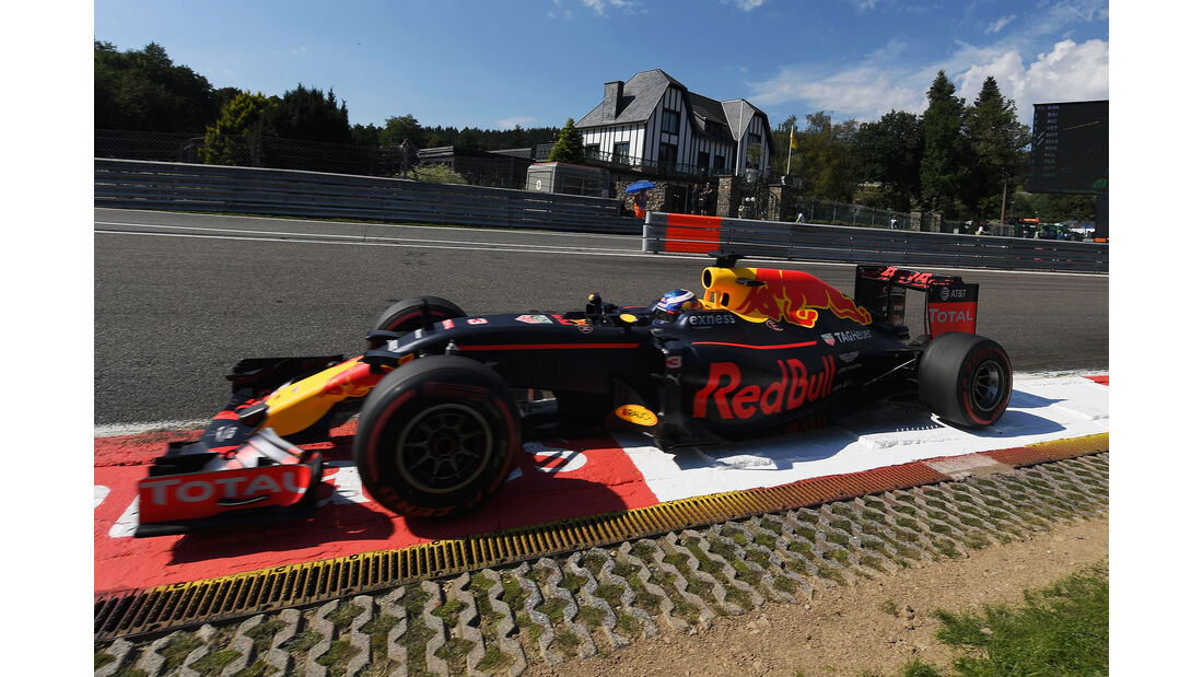 Red Bull - GP Belgien 2016
