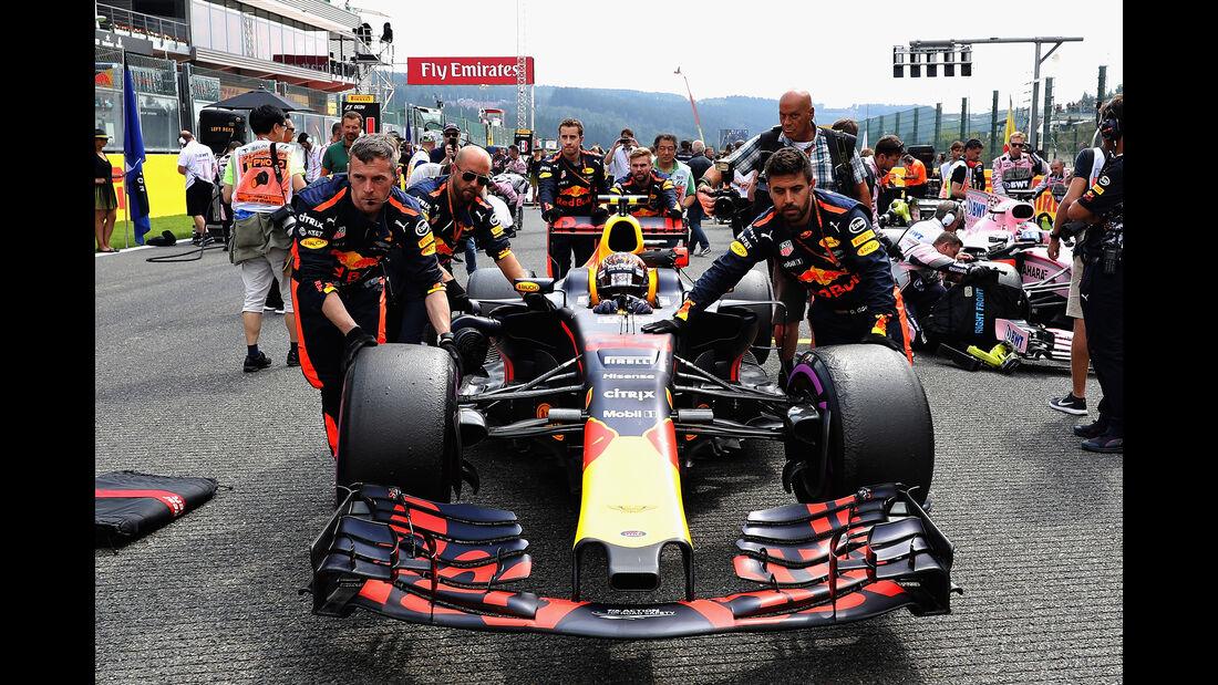 Red Bull - GP Belgien 2017