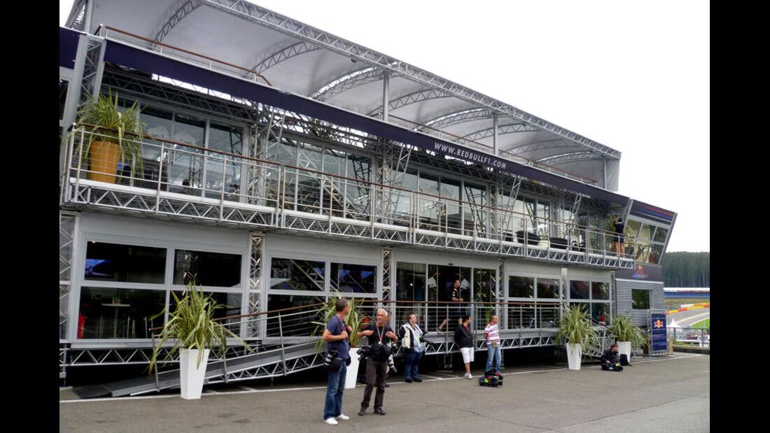 Red Bull - GP Belgien - 25. August 2012
