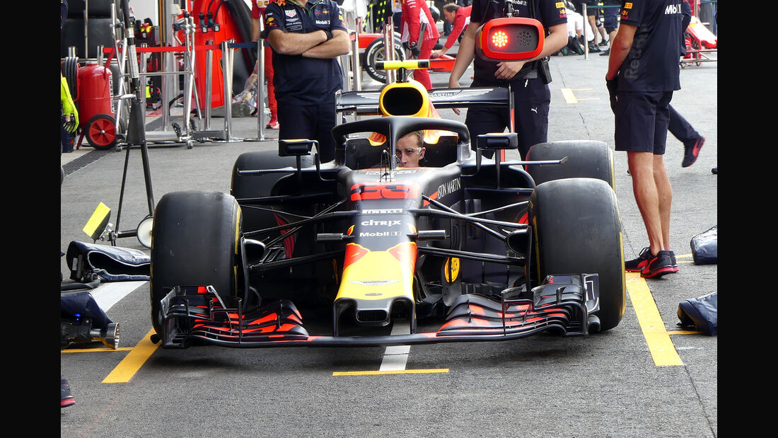 Red Bull - GP Belgien - Spa-Francorchamps - 24. August 2018