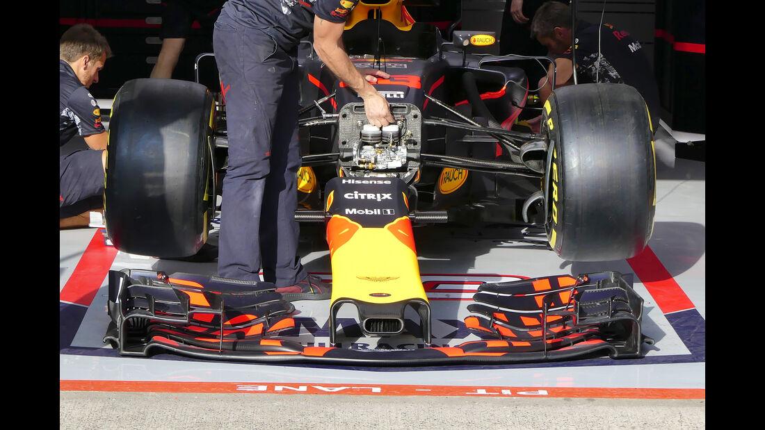 Red Bull - GP Belgien - Spa-Francorchamps - Formel 1 - 24. August 2017