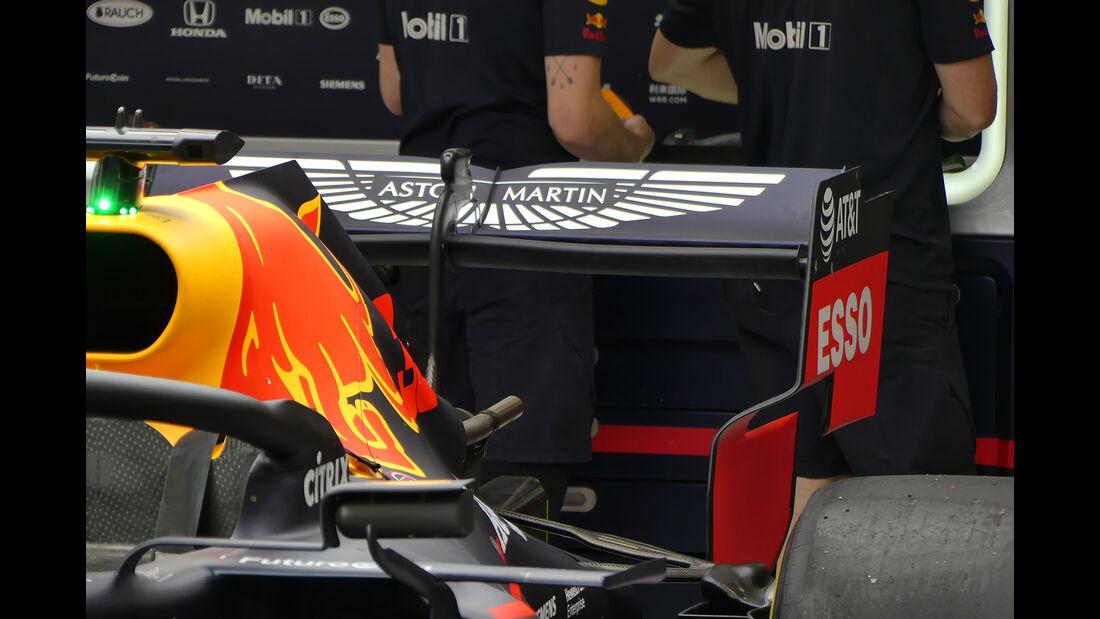 Red Bull - GP Belgien - Spa-Francorchamps - Formel 1 - Donnerstag - 29.8.2019
