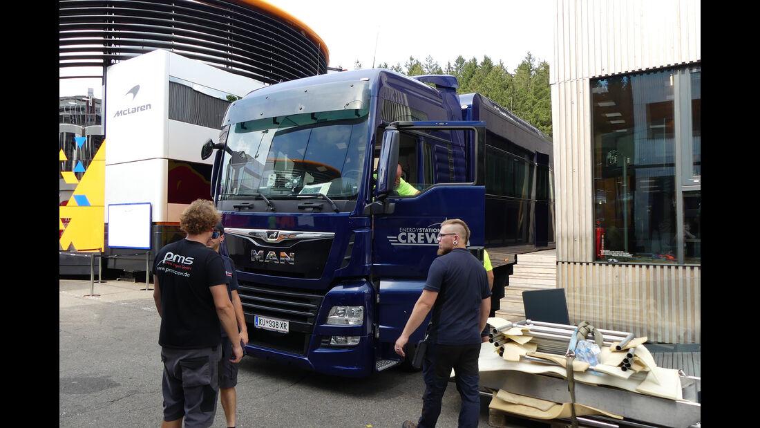 Red Bull - GP Belgien - Spa-Francorchamps - Formel 1 - Mittwoch - 28.8.2019