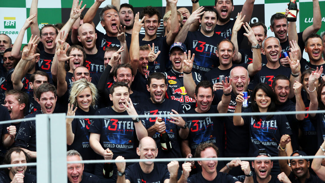 Red Bull GP Brasilien 2012