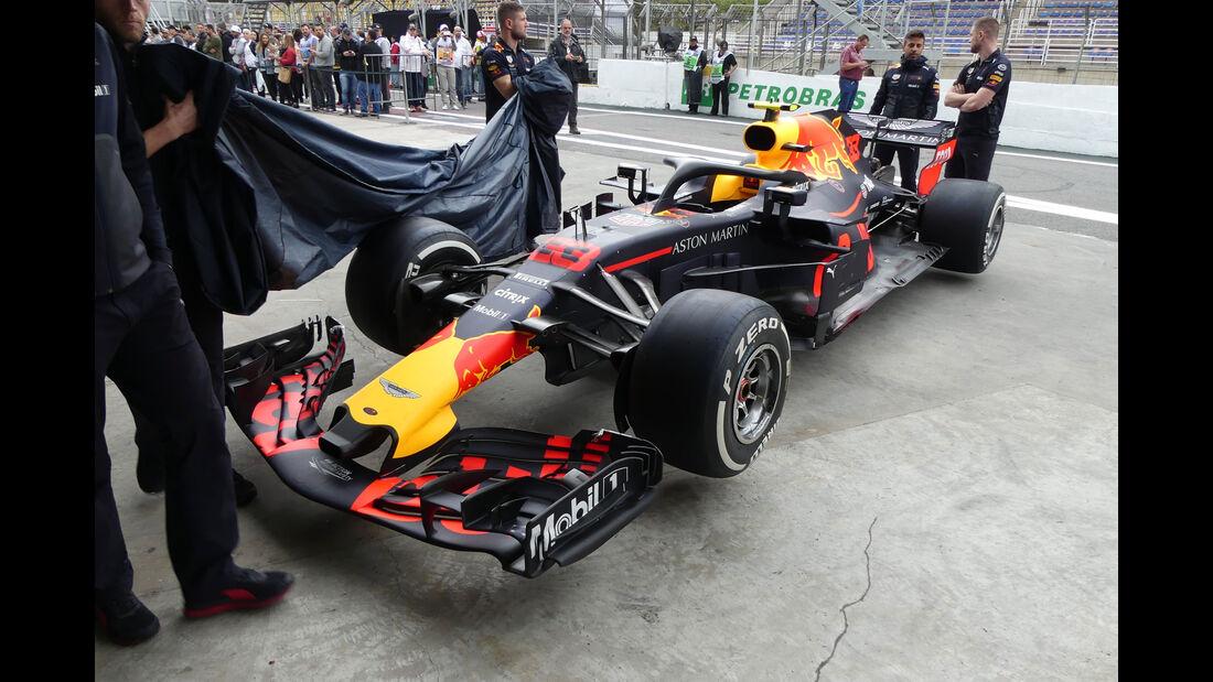 Red Bull - GP Brasilien - Interlagos - Formel 1 - Donnerstag - 8.11.2018
