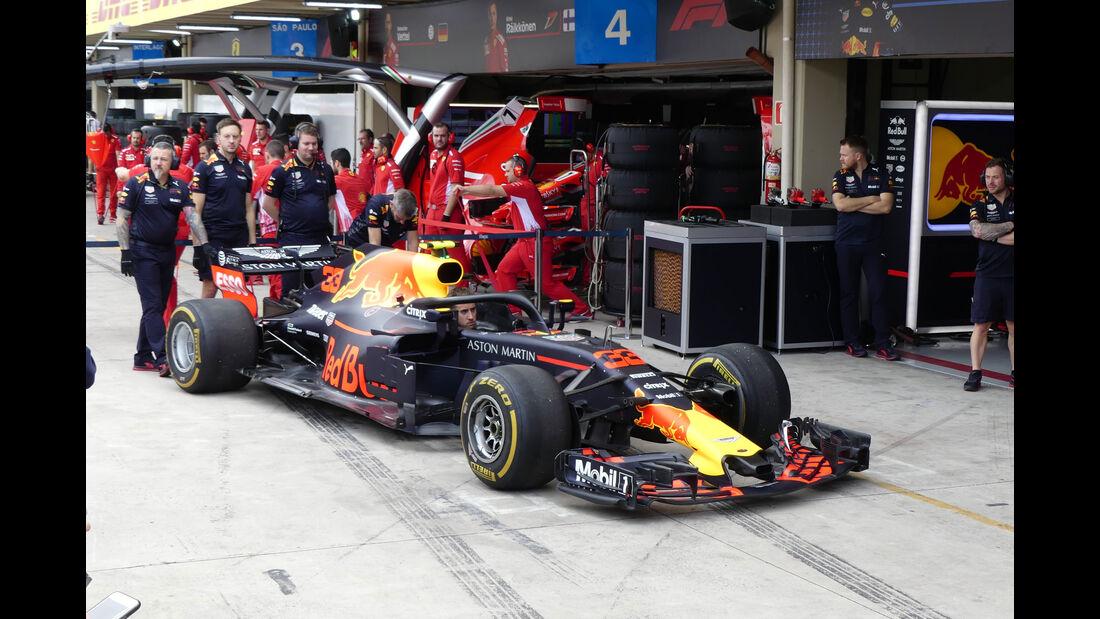 Red Bull - GP Brasilien - Interlagos - Formel 1 - Freitag - 9.11.2018