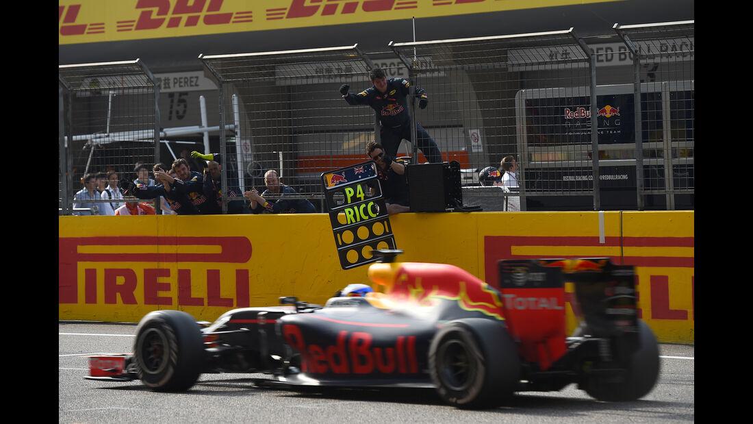 Red Bull - GP China 2016