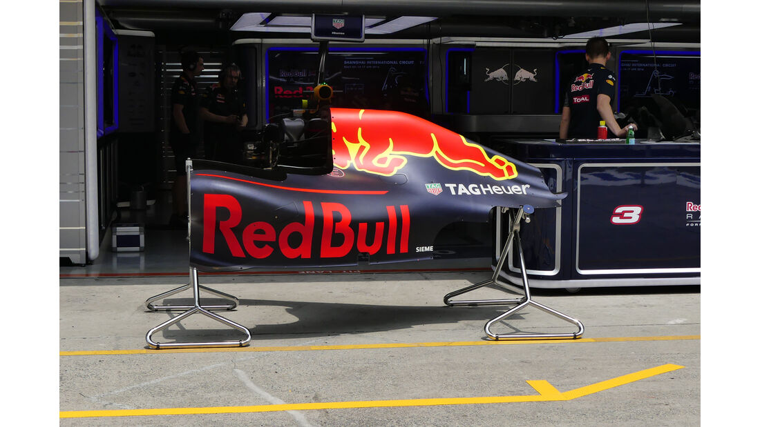 Red Bull - GP China - Shanghai - Donnerstag - 14.4.2016