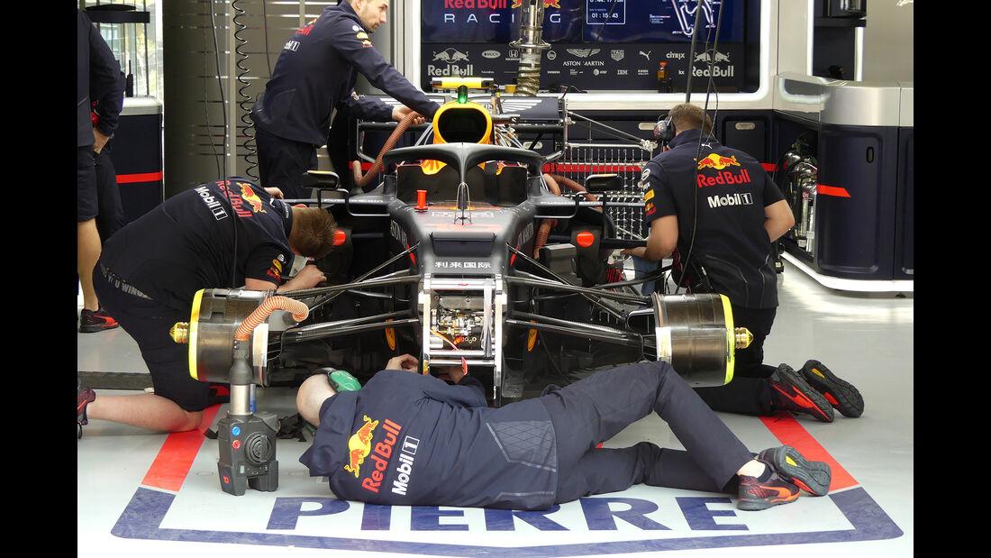 Red Bull - GP China - Shanghai - Formel 1 - Freitag - 12.4.2019