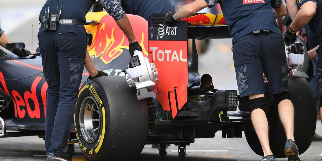 Red Bull - GP Deutschland - Formel 1 - 29. Juli 2016