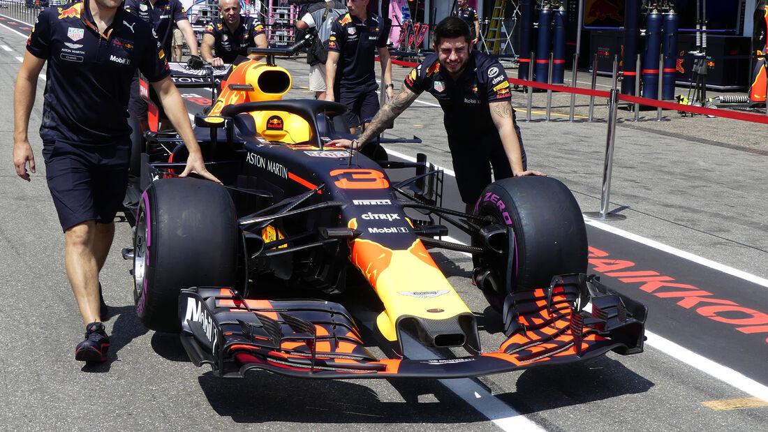 Red Bull - GP Deutschland - Hockenheim - Formel 1 - Donnerstag - 19.7.2018