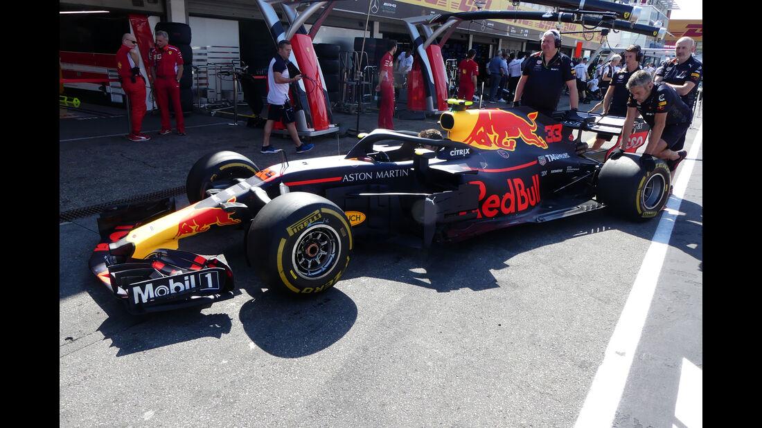 Red Bull - GP Deutschland - Hockenheim - Formel 1 - Freitag - 20.7.2018