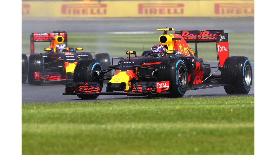 Red Bull - GP England - Formel 1 - 2016