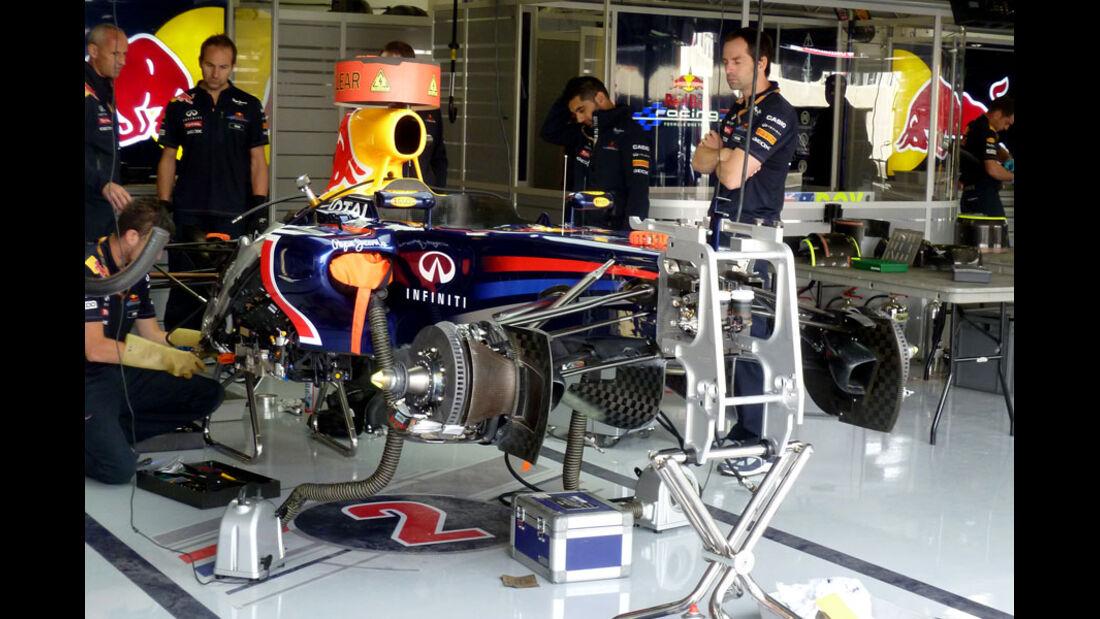 Red Bull - GP England - Silverstone - Do. 7. Juli 2011