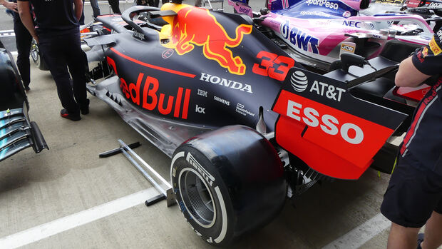 Red Bull - GP England - Silverstone - Donnerstag - 11.07.2019