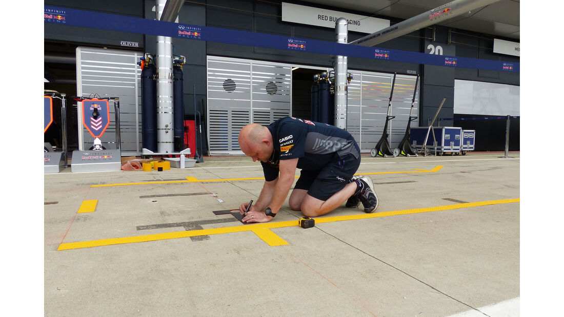 Red Bull - GP England - Silverstone - Donnerstag - 2.7.2015