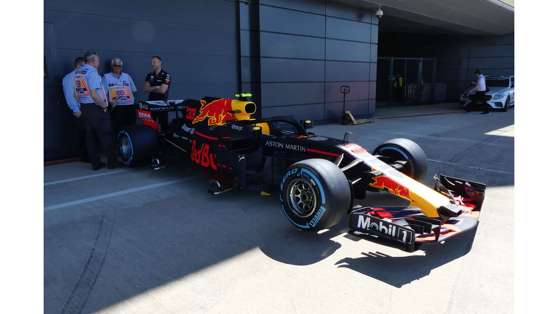 Red Bull - GP England - Silverstone - Formel 1 - Donnerstag - 5.7.2018