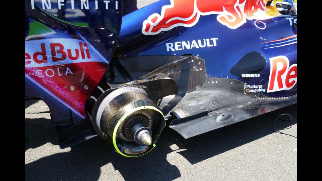 Red Bull GP Europa Auspuff 2011