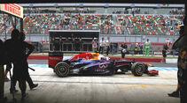 Red Bull - GP Indien 2013