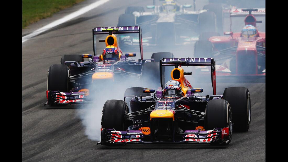 Red Bull - GP Italien 2013