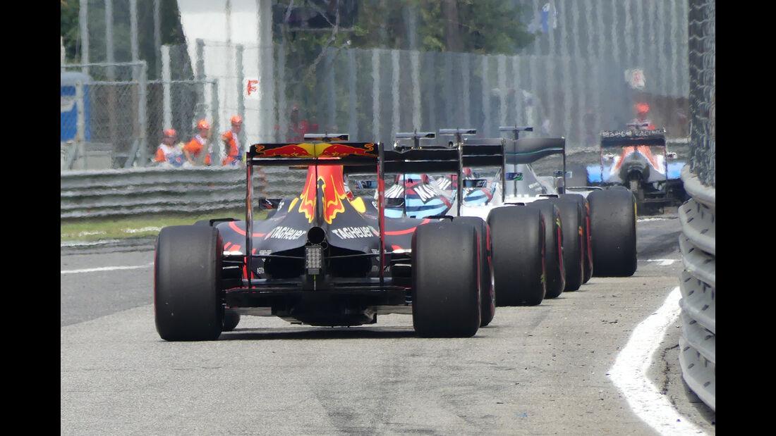 Red Bull - GP Italien 2016