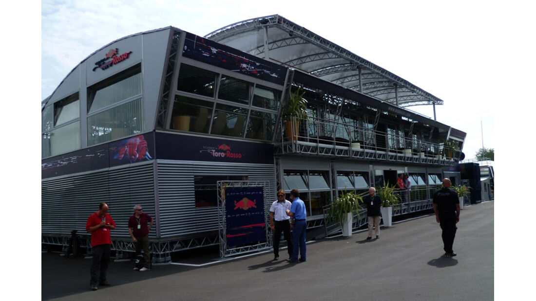 Red Bull - GP Italien - 8. September 2011