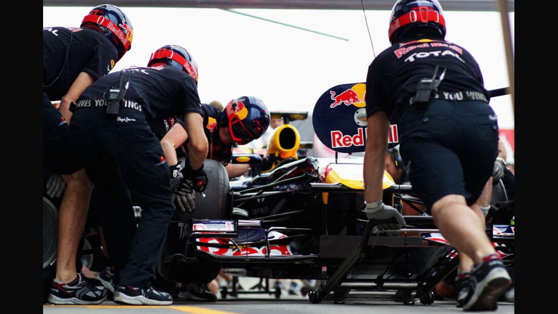 Red Bull - GP Italien - Monza - 10. September 2011