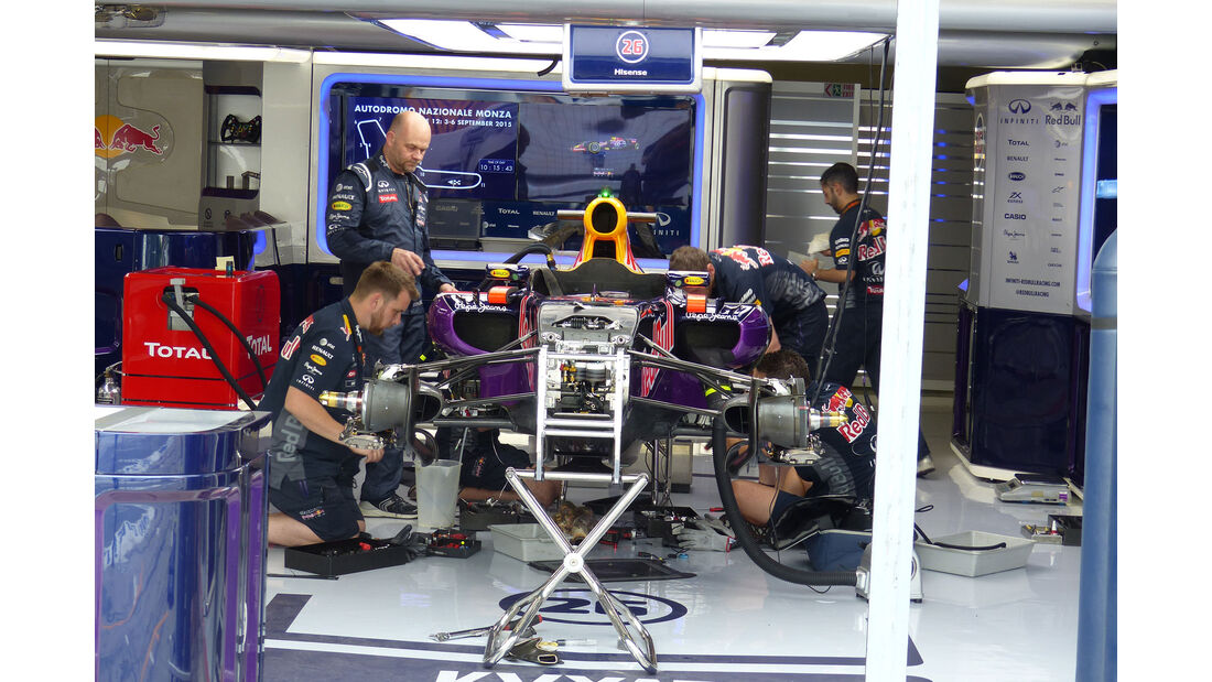Red Bull - GP Italien - Monza - Donnerstag - 3.9.2015