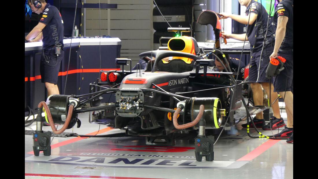Red Bull - GP Japan - Suzuka - Formel 1 - Freitag - 5.10.2018